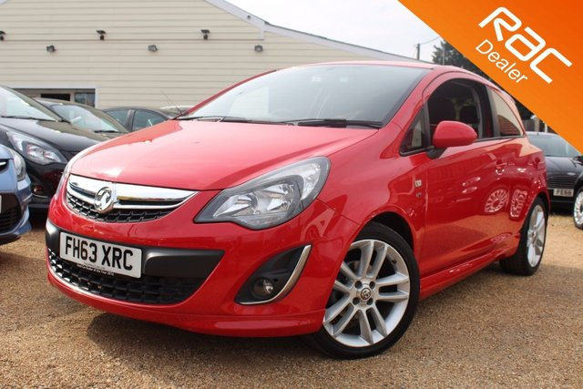 View our 2014 63 VAUXHALL CORSA 1.4 SRI 3d 98 BHP