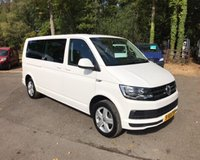 USED 2016 16 VOLKSWAGEN TRANSPORTER SHUTTLE 2.0 TDI BlueMotion Tech T32 SE LWB Mini Bus 5dr (EU6) New Shape, 9 Seats, Air Con