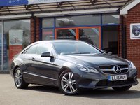 USED 2015 15 MERCEDES-BENZ E CLASS 2.1 E220 BLUETEC SE 2dr AUTO 174 BHP * Leather & Nav * * Stunning Luxury Diesel Auto *