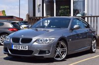 USED 2012 12 BMW 3 SERIES 2.0 320D M SPORT 2d AUTO 181 BHP FULL SERVICE HISTORY 2 STAMPS
