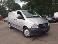 USED 2014 14 MERCEDES-BENZ VITO 2.1 113CDI Long Panel Van 5dr (EU5) One Owner, Air Conditioning