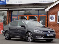 USED 2012 62 VOLKSWAGEN PASSAT 2.0 TDi SPORT BLUEMOTION TECHNOLOGY 4dr (140) *Sat Nav Upgrade and Only £30 Road Tax*