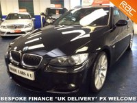 USED 2008 08 BMW 3 SERIES 335I M SPORT COUPE AUTO  **iDRIVE - SAT NAV - LEATHER - FULL SERVICE HISTORY**