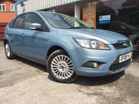 USED 2008 08 FORD FOCUS 1.6 TITANIUM 5d 100 BHP LOW MILEAGE! AIR CON!