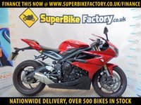 USED 2016 65 TRIUMPH DAYTONA 675 ABS  GOOD & BAD CREDIT ACCEPTED, OVER 500+ BIKES