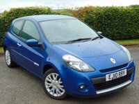 USED 2010 10 RENAULT CLIO 1.1 DYNAMIQUE TOMTOM 16V 3d LOW MILEAGE * IDEAL FIRST CAR * SATELLITE NAVIGATION *