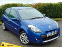 USED 2010 10 RENAULT CLIO 1.1 DYNAMIQUE TOMTOM 16V 3d 128 POINT AA INSPECTED * SATELLITE NAVIGATION *