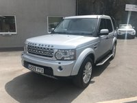 USED 2010 59 LAND ROVER DISCOVERY 3.0 4 TDV6 HSE 5d AUTO 245 BHP FULL SERVICE HISTORY ** ONLY 1 FORMER KEEPER **