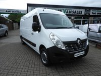 USED 2015 15 RENAULT MASTER 2.3 LM35 BUSINESS DCI 125 BHP LOW 9500 MILES LOW MILES ONLY COVERD 9500 WITH FSH