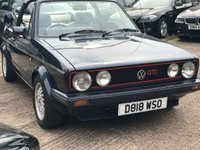 1987 VOLKSWAGEN GOLF