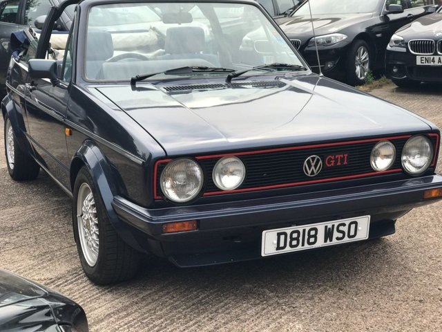1987 D VOLKSWAGEN GOLF 1.8 GTI CONVERTIBLE