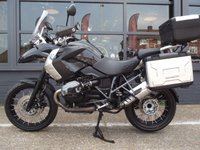 USED 2012 62 BMW R 1200 GS ADVENTURE TU 1170cc R 1200 GS TRIPLE BLACK FULL BMW SERVICE HISTORY & SAT NAV