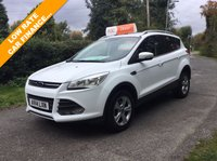 USED 2014 14 FORD KUGA 2.0 ZETEC TDCI 5d 138 BHP ONLY ONE OWNER FORD KUGA , RAC DEALER