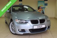 USED 2009 09 BMW 3 SERIES 2.0 320I M SPORT 2d 168 BHP COUPE BLACK LEATHER, ALLOYS, EXTENDED LIGHT PACK, SPORT SEATS, LOW MILEAGE, STUNNING M SPORT COUPE