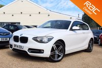 USED 2014 14 BMW 1 SERIES 2.0 120D SPORT 3d 181 BHP Bluetooth, 6 months warranty & more