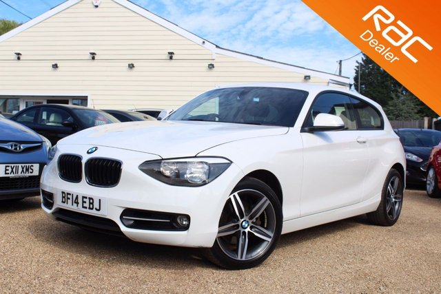 View our 2014 14 BMW 1 SERIES 2.0 120D SPORT 3d 181 BHP