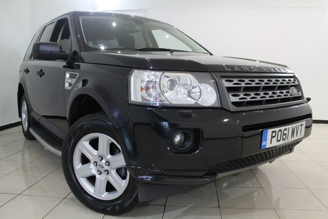 View our 2011 61 LAND ROVER FREELANDER 2.2 TD4 GS 5DR 150 BHP