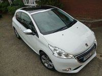 USED 2014 14 PEUGEOT 208 1.6 E-HDI ALLURE 3d 92 BHP Big Specification & Pan Roof