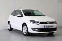USED 2011 61 VOLKSWAGEN POLO 1.4 MATCH DSG 3dr AUTO 83 BHP VW SERVICE HISTORY | JUST SERVICED | AUTO