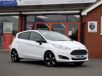 USED 2015 65 FORD FIESTA 1.2 ZETEC WHITE EDITION AUTUMN 5dr  * Lovely Low Miles Sporty Hatch *