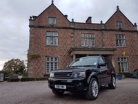 """USED 2011 11 LAND ROVER RANGE ROVER SPORT 3.0 TDV6 HSE 5d AUTO 245 BHP Landrover History/21"""" Alloys/1 Previous Owner/Sat Nav"""