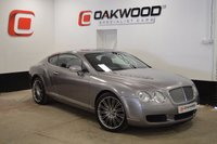 USED 2006 06 BENTLEY CONTINENTAL GT 6.0 W12 COUPE AUTO 550 BHP **LOW MILES** 10 SERVICES FROM NEW
