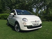 2015 FIAT 500 1.2 LOUNGE 3d 69 BHP £6989.00