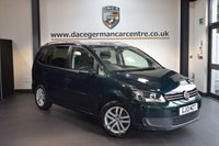 USED 2013 13 VOLKSWAGEN TOURAN 2.0 SE TDI BLUEMOTION TECHNOLOGY 5DR 7 SEATER 138 BHP + 1 OWNER FROM NEW + SERVICE HISTORY + BLUETOOTH + CRUISE CONTROL + AUXILIARY PORT + 7 SEAT + HEATED MIRRORS + PARKING SENSORS + 16 INCH ALLOY WHEELS +
