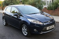 USED 2012 61 FORD FIESTA 1.2 ZETEC 5d 81 BHP 1 Owner - Full Service History - 1 Year Bronze Mechanical Warranty