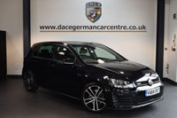USED 2015 64 VOLKSWAGEN GOLF 2.0 GTD DSG 5DR AUTO 182 BHP + 1 OWNER FROM NEW + FULL VW SERVICE HISTORY + BLUETOOTH  + SPORT SEATS + DAB RADIO + CRUISE CONTROL + PARKING SENSORS + 18 INCH ALLOY WHEELS +