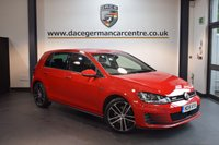 USED 2015 15 VOLKSWAGEN GOLF 2.0 GTD 5DR 181 BHP + FULL VW SERVICE HISTORY + 1 OWNER FROM NEW + BLUETOOTH + SPORT SEATS + DAB RADIO + CRUISE CONTROL + AUXILIARY PORT + HEATED MIRRORS + PARKING SENSORS + 18 INCH ALLOY WHEELS +