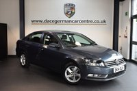 USED 2014 14 VOLKSWAGEN PASSAT 2.0 S TDI BLUEMOTION TECHNOLOGY 4DR 139 BHP + FULL VW SERVICE HISTORY + 1 OWNER FROM NEW + BLUETOOTH + AUXILIARY PORT + HEATED MIRRORS + 16 INCH ALLOY WHEELS +