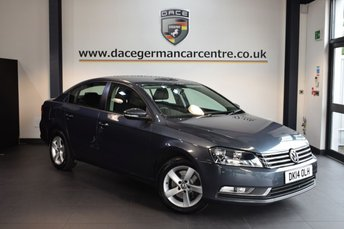 2014 VOLKSWAGEN PASSAT 2.0 S TDI BLUEMOTION TECHNOLOGY 4DR 139 BHP £8970.00