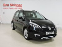 USED 2013 63 RENAULT SCENIC 1.5 XMOD DYNAMIQUE TOMTOM DCI EDC 5d AUTO 110 BHP
