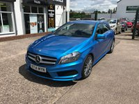USED 2014 14 MERCEDES-BENZ A CLASS 1.8 A200 CDI BLUEEFFICIENCY AMG SPORT 5d AUTO 136 BHP 1 Owner-Full Main Dealer Service History-Diesel-Bluetooth