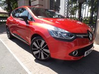 USED 2014 14 RENAULT CLIO 1.5 DYNAMIQUE S MEDIANAV DCI 5d AUTO 90 BHP 1 OWNER FROM NEW RENAULT WARRANTY UNTIL 08-02018 £ 0 FREE ROAD TAX SAT/NAV BLUETOOTH PHONE AIR/CON CRUISE CONTROL PARKING SENSORS *** FINANCE & PART EXCHANGE WELCOME ***