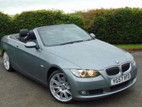 USED 2007 57 BMW 3 SERIES 3.0 325I SE 2d  * FULL SERVICE HISTORY * FULL HEATED LEATHER INTERIOR *