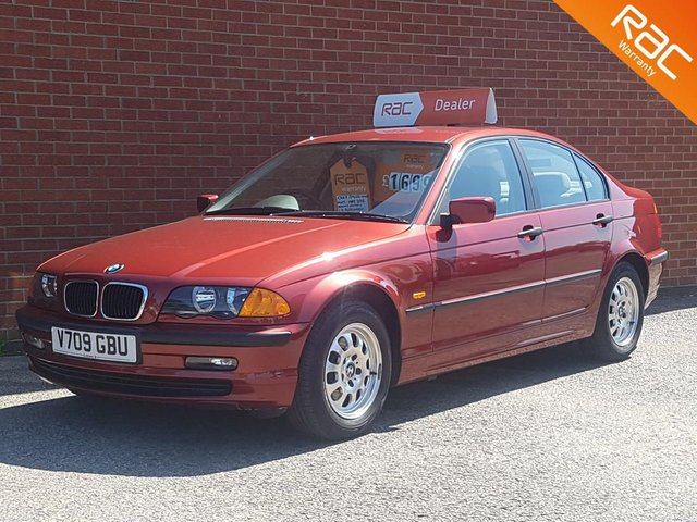 1999 BMW 3 SERIES 1.9 318I SE 4d AUTOMATIC