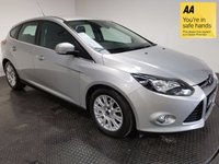 USED 2011 61 FORD FOCUS 1.6 TITANIUM TDCI 115 5d 114 BHP HISTORY-LOW MILEAGE-BLUETOOTH-A/C