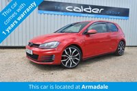 2015 VOLKSWAGEN GOLF 2.0 GTI 3d 220 BHP ( PERFORMANCE PACK )  £16711.00