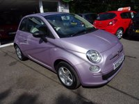 USED 2013 63 FIAT 500 1.2 POP 3d 69 BHP Low Mileage, Just Serviced by ourselves, One Lady Owner from new, NEW MOT (to be completed), Great on fuel! Only £30 Road Tax!