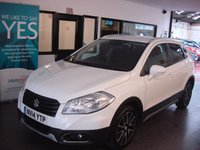 USED 2014 14 SUZUKI SX4 S-CROSS 1.6 SZ-T 5d 118 BHP Two owners, full service history, Mot till September 2018. Huge specification and a high driving position.