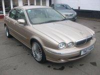 2003 JAGUAR X-TYPE 2.5 V6 SE 4d AUTO 195 BHP £1695.00