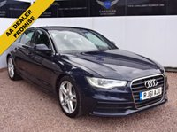 USED 2011 61 AUDI A6 3.0 TDI S LINE 4d AUTO 204 BHP ONE OWNER FROM NEW, FSH, SAT NAV, XENONS