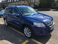 USED 2010 59 VOLKSWAGEN TIGUAN 2.0 SPORT TDI 4MOTION 5d 138 BHP PRICE INCLUDES A 6 MONTH AA WARRANTY DEALER CARE EXTENDED GUARANTEE, 1 YEARS MOT AND A OIL & FILTERS SERVICE. 12 MONTHS FREE BREAKDOWN COVER