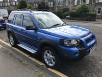 USED 2004 04 LAND ROVER FREELANDER 2.0 TD4 HSE STATION WAGON 5d AUTO 110 BHP PRICE INCLUDES A 6 MONTH AA WARRANTY DEALER CARE EXTENDED GUARANTEE, 1 YEARS MOT AND A OIL & FILTERS SERVICE. 12 MONTHS FREE BREAKDOWN COVER