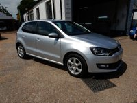 USED 2011 11 VOLKSWAGEN POLO 1.2 MODA A/C 5d 60 BHP TWO KEYS,AIR CON,USB AND AUX PORT,