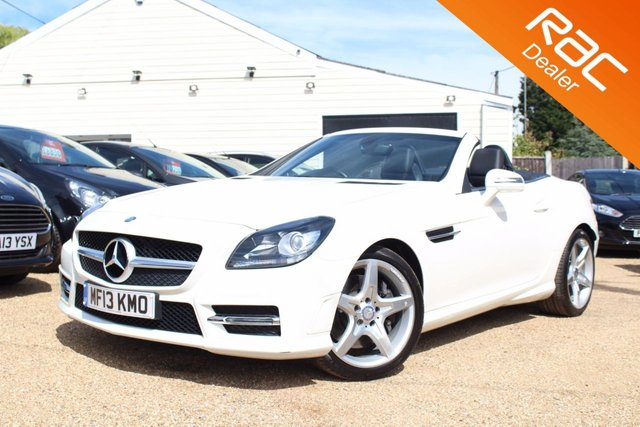 View our 2013 13 MERCEDES-BENZ SLK 2.1 SLK250 CDI BLUEEFFICIENCY AMG SPORT 2d AUTO 204 BHP