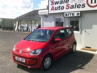 USED 2014 14 VOLKSWAGEN UP 1.0 MOVE UP ONE OWNER FROM NEW - FULL SERVICE HISTORY - £29/WEEK