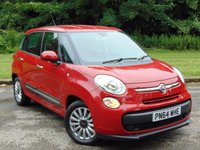 USED 2014 64 FIAT 500L 1.2 MULTIJET POP STAR 5d AUTO  * 128 POINT AA INSPECTED * 12 MONTHS AA BREAKDOWN COVER *